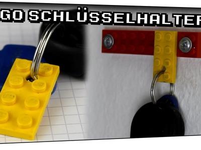 Lego Schlüsselhalter selber bauen! (DIY) - TechTüftelt #04