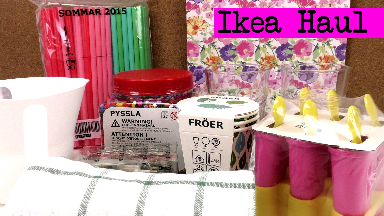 DIY Ikea Haul. Eva war einkaufen. DIY Inspiration Haul. deutsch