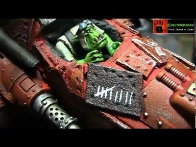 Warhammer 40K Tutorial Ork Bomber Teil 02 Bemalung