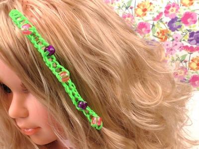 Hairloom selber machen.mit Zopf mit Perlen. einfache Hairlooms. Anleitung deutsch
