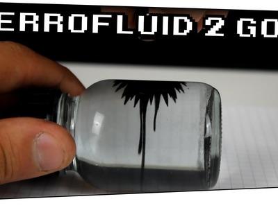 DIY Ferrofluid in a bottle. Ferrofluid zum mitnehmen? - Heimexperimente #46