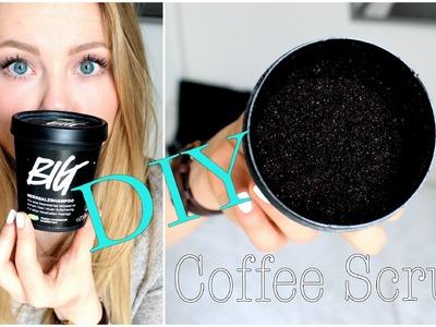 COFFEE SCRUB für weiche, gepflegte Haut  | DIY PEELING