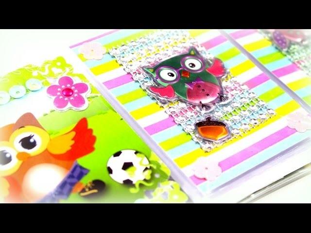 DIY Bastelideen Papier | Basteln mit Kindern Sammelkarten ATC deutsch - Youtube Kindervideo