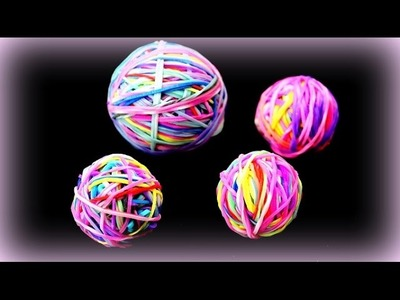 Gigantischen Flummi selber machen - Rainbow Loom Bands - 9999 Dinge Kinderkanal