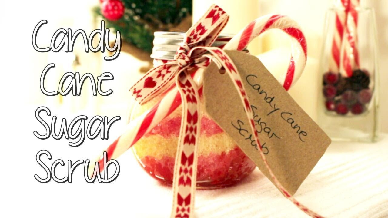 Last Minute Weihnachtsgeschenk: DIY Candy Cane Sugar Scrub