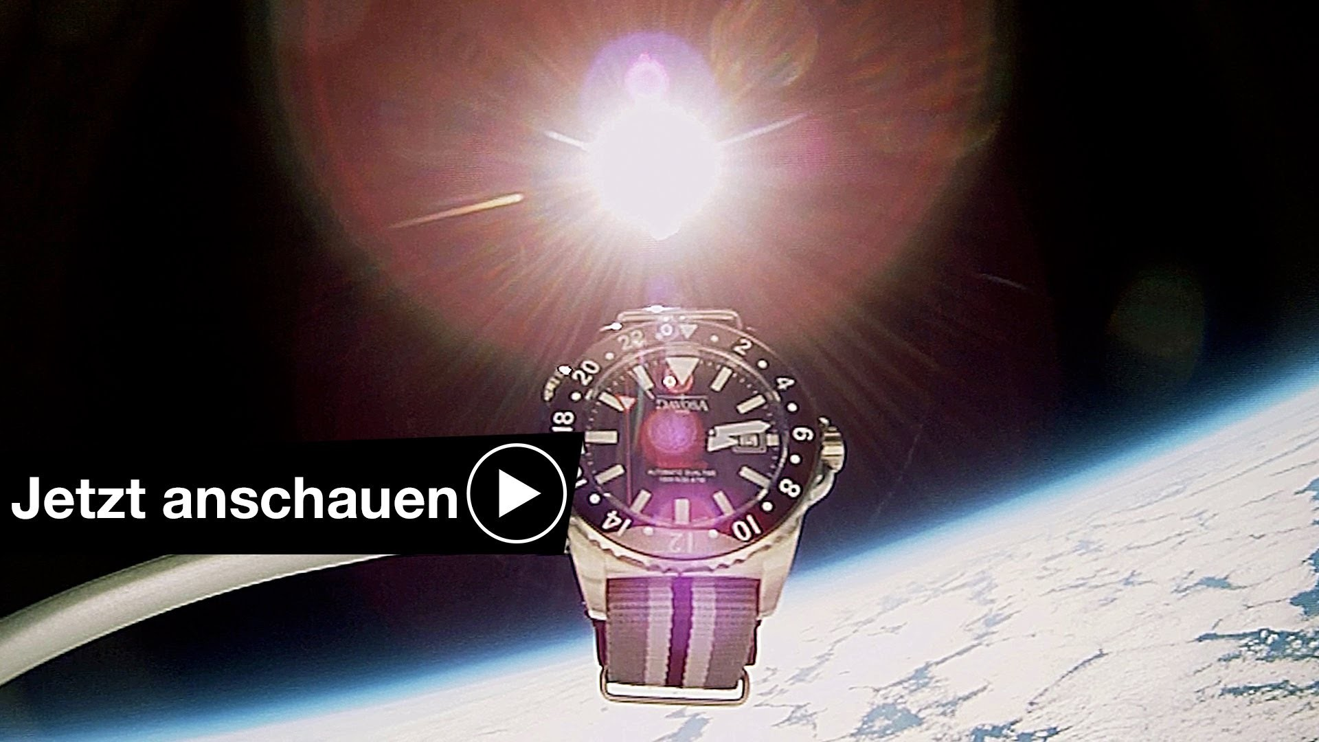 EXPERIMENT:  UHR MIT ACTION CAM IM WELTALL SPACE CAM