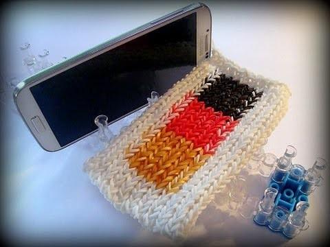 Loom Bands Handyhülle Deutschland, Smartphone Hülle, Deutsch Rainbow Loom