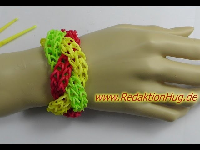 Loom Bands ohne Rainbow Loom Deutsch A 6 - Veronika Hug