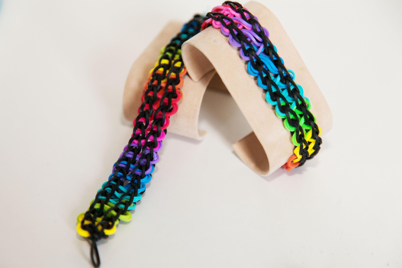 "Rainbow Loom ""Double Infinity"" Armband Deutsch"