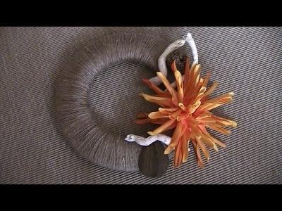 DIY Herbstdeko: Türkranz