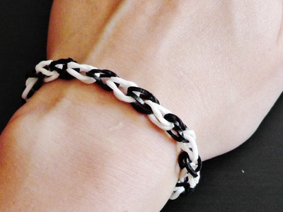 Einfaches Armband - Dr. Loom - © Woolpedia