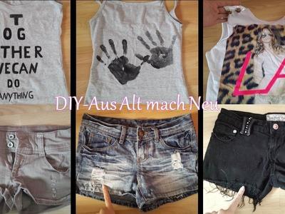 DIY - Kleidung verändern #3. Aus Alt mach Neu
