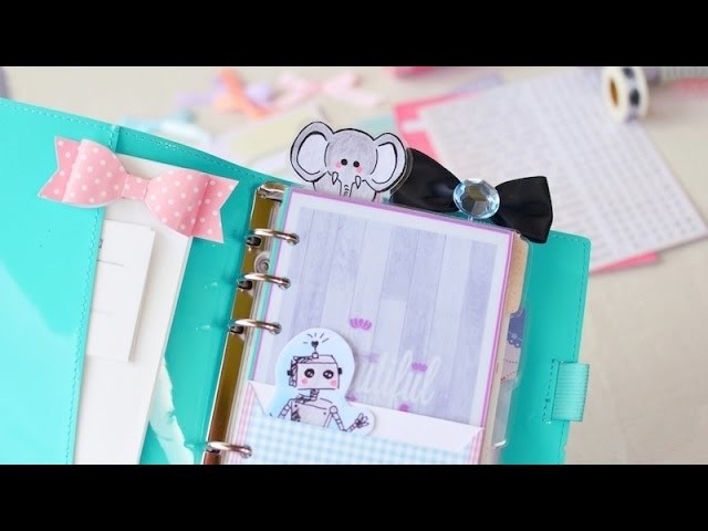 10 FILOFAX HACKS & DIY's | Kalender, Schulplaner | ViktoriaSarina