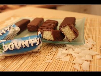 Bounty-Riegel Rezept. Bounty Bars Recipe. Nachgemacht: Original trifft Sally