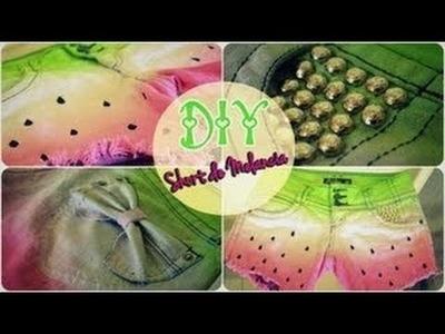 DIY Shorts - Wassermelonen-Schleifen