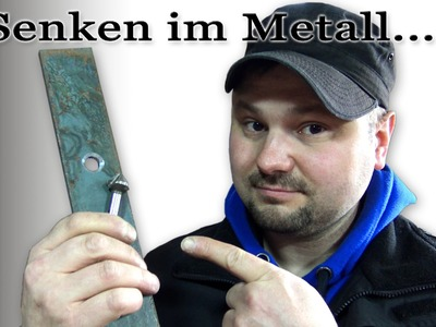 Senken im Metall! Warum habe ich Rattermarken in der Senkung? M1Molter
