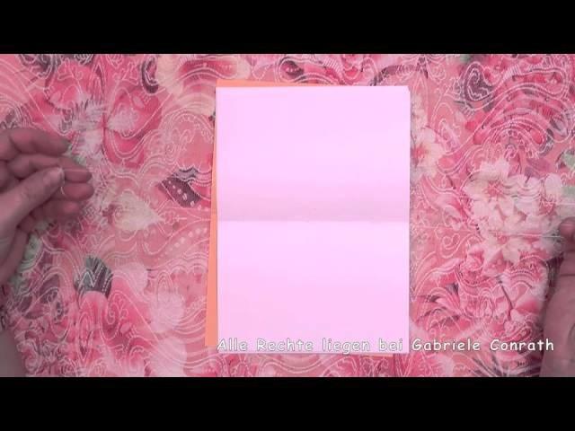 Einfaches Heft selbst binden DIY