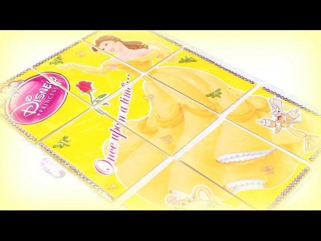 DIY Bastelideen - Pocket Letter Disney Princess - Basteln mit Papier