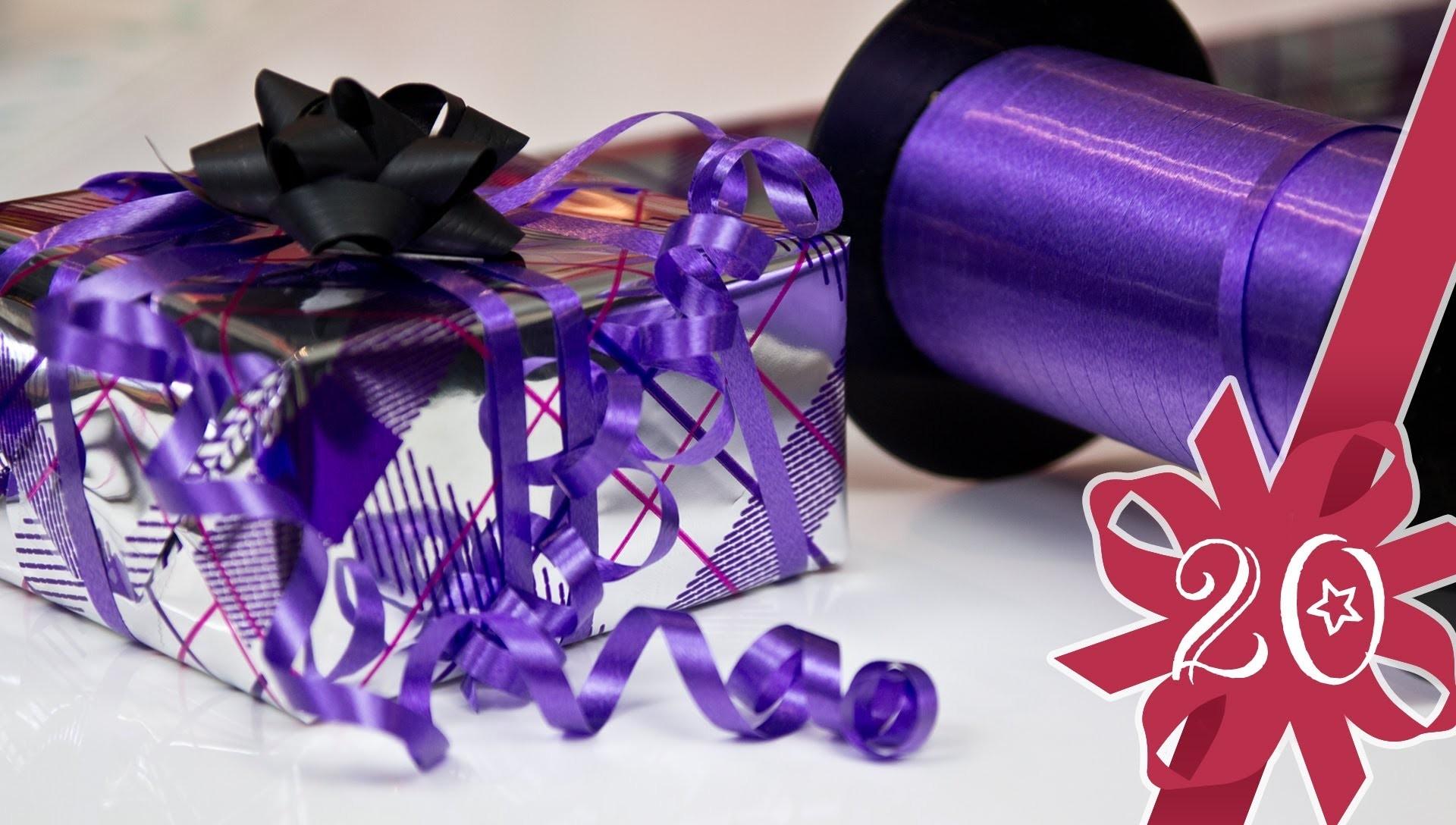 Geschenke verpacken - NIE WIEDER PAPIER VERSCHWENDEN - Magnolia Adventskalender