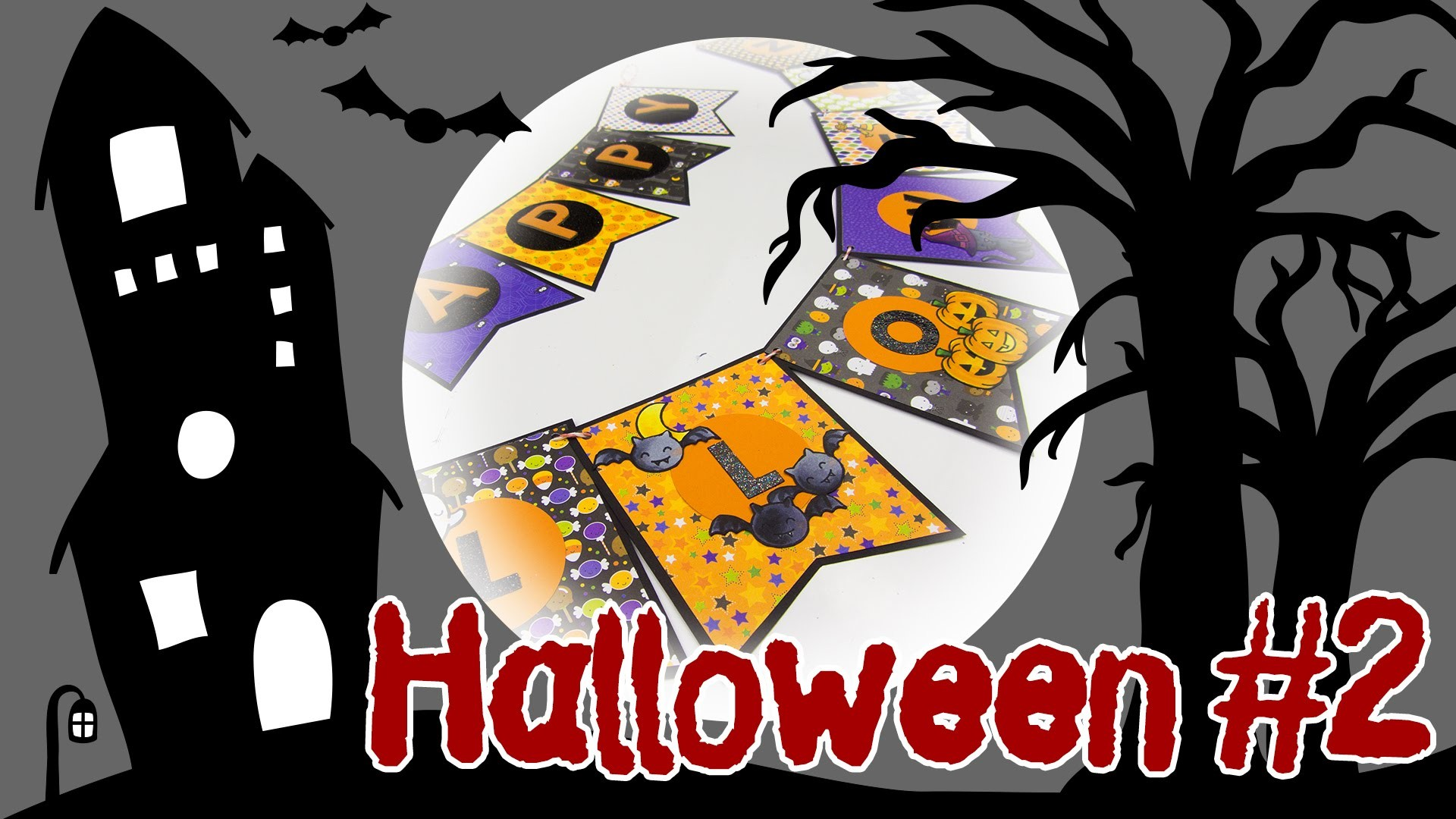[Halloween #2] Banner zum Aufhängen | DIY Deko für Halloween