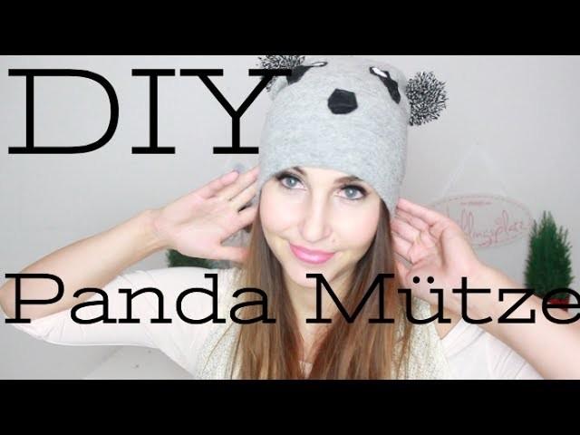 DIY Panda Mütze by Nikisbeautychannel