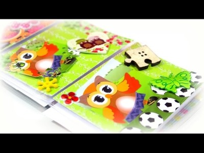 DIY Ideen Video deutsch | Basteln mit Papier Kindern | Bastelideen ATC´s Karten