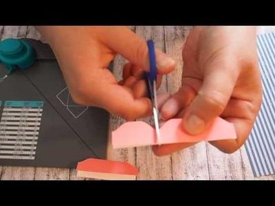 DIY Tutorial Divider.Trennblätter fürs Filofax selber machen