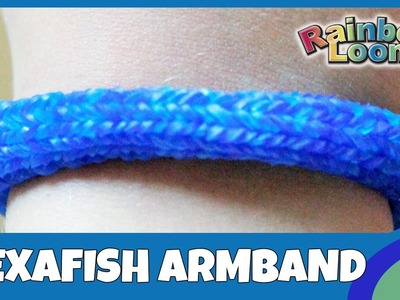 Rainbow Loom MonsterTail: Hexafish-Armband - deutsche Anleitung