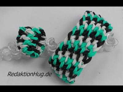 Loom Bands mit Rainbow Loom Anleitung Deutsch D 5 - Veronika Hug