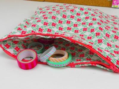 Tasche aus Stoff DIY. Stofftasche für Muttertag ganz einfach selber machen. Stofftasche DIY