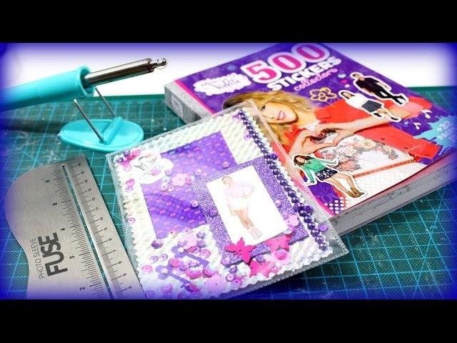 Disney Violetta 3 Karten Schüttelkarten basteln - Bastelanleitung Photo Fuse Tutorial deutsch