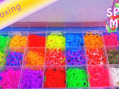 Loom Bandz Holiday Fun Box (unboxing) | deutsch german Armbänder aus Gummiringen Verpackung