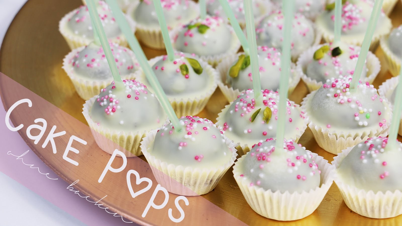 Cake Pop Pralinen - ohne backen