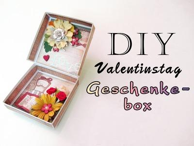 DIY Geschenkebox zum Valentinstag | Muttertag | Geburtstag