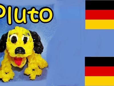 Loom Bandz Anleitung Deutsch Pluto Hund, Loom Bands Deutsch Tiere, Rainbow Loom Deutsch