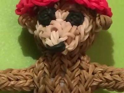 Mein Rainbow Loom 3D Paddington Bär - von Lachtaeubchen