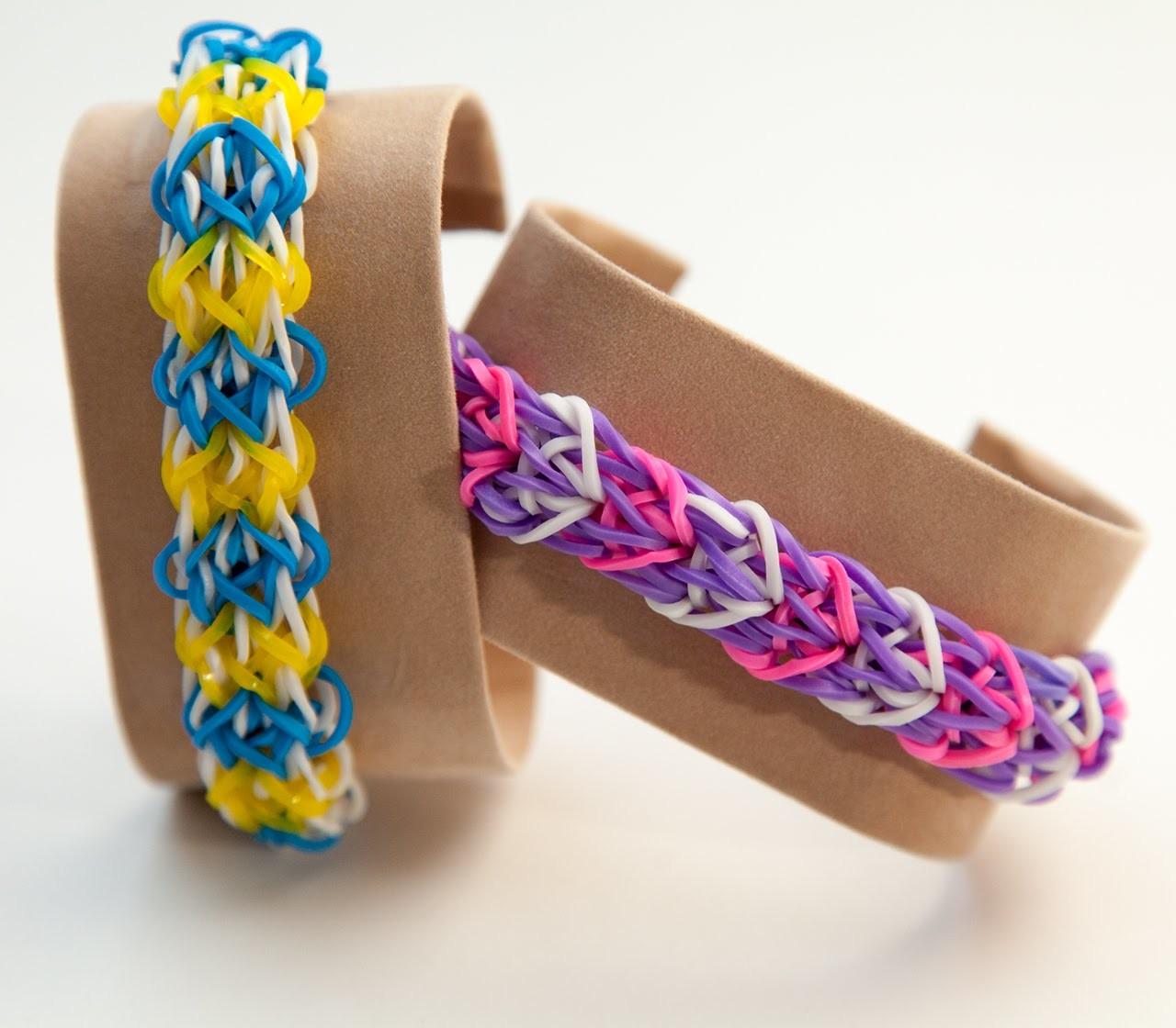 Rainbow Loom Delta Wing Armband Deutsch Ausführlich