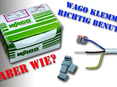 Wago Klemmen richtig benutzen oder wie Wago Klemme lösen? von M1Molter