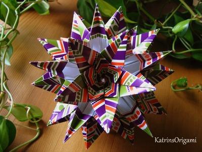 Origami ✿ Sparaxis ✿ Kusudama