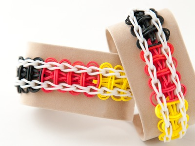 Rainbow Loom Ladder Armband