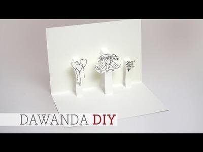 DaWanda DIY: Klappkarte zum Valentinstag