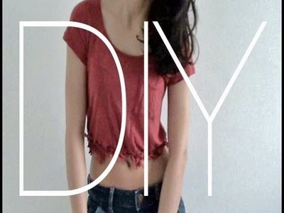 DIY: Fransiges Sommer-Shirt