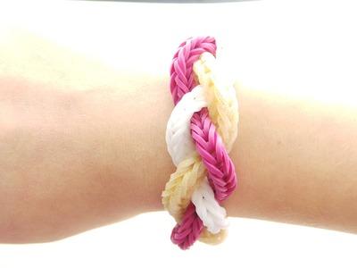 Rainbow Loom Bands Flecht-Armband (Anleitung Deutsch)