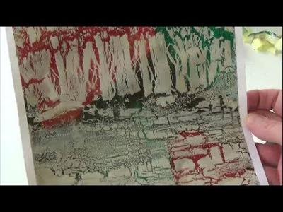 Acrylmalerei   Techniken   Krakelieren mit Holzleim