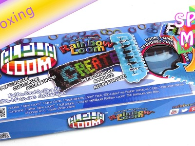 Alpha Loom unboxing - Das neue Rainbow Loom Board ist da! Sneak Preview