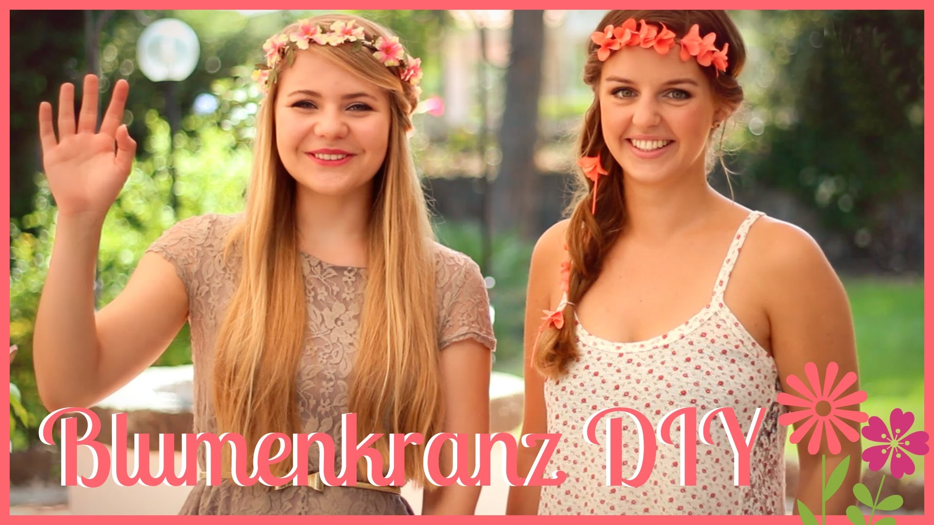 Blumenkranz DIY by DominoKati und LoveTheCosmetics