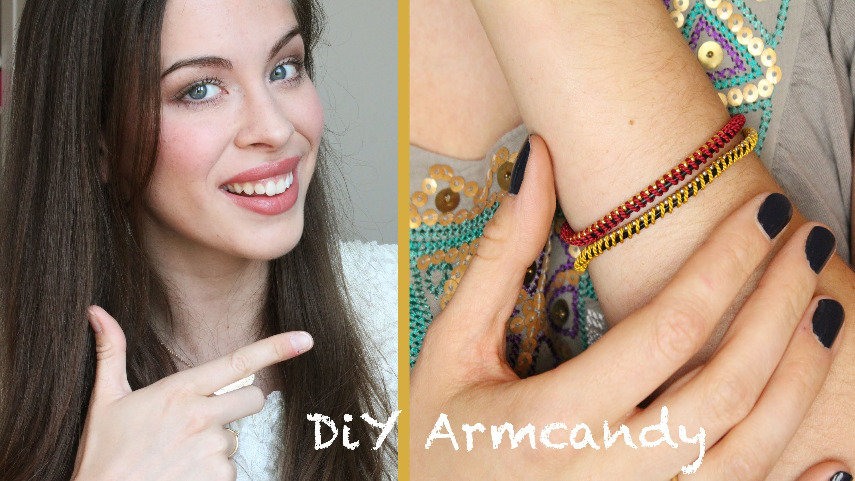 Klimbim Drumrum -- DIY: Bunte Armbänder. Armcandy mit itsKimLianne