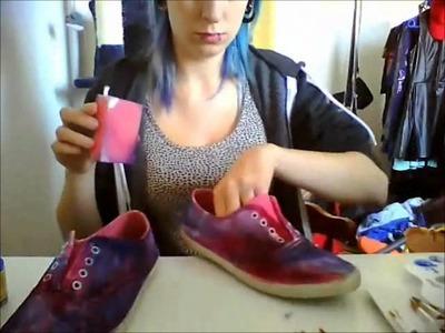 Shoe DIY: Galaxy Look | Judy Sway