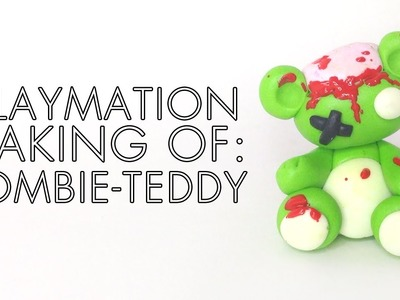 Claymation Making Of: Zombie-Teddy