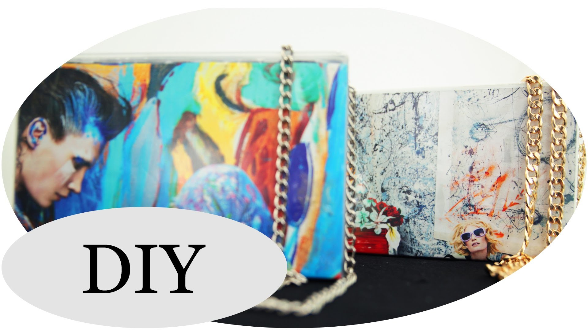 DIY Clutch *Upcycling* ! Mit VERLOSUNG!!!